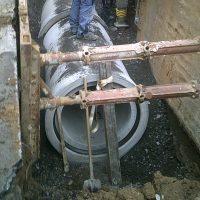 Kanalhausanschluss